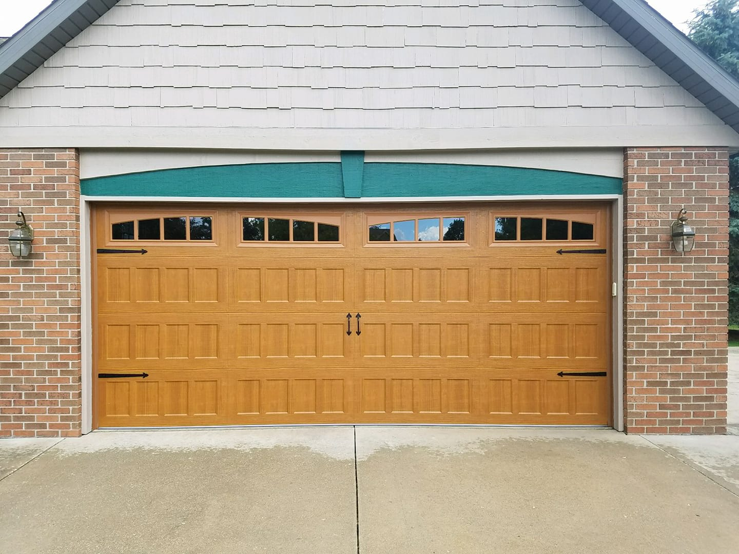 fix a slow garage door