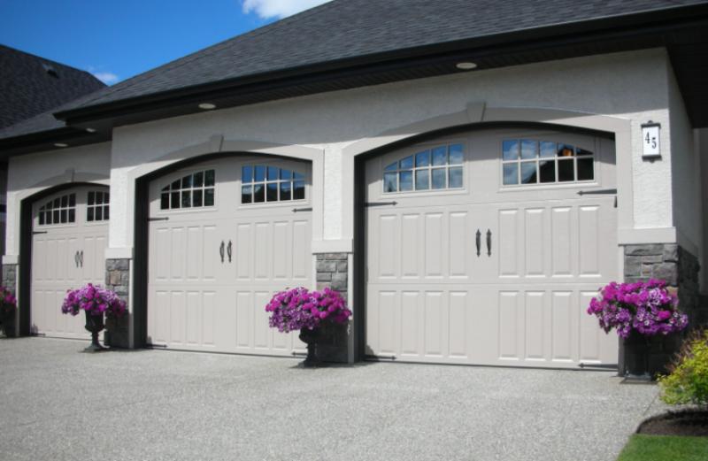 common types of garage doors