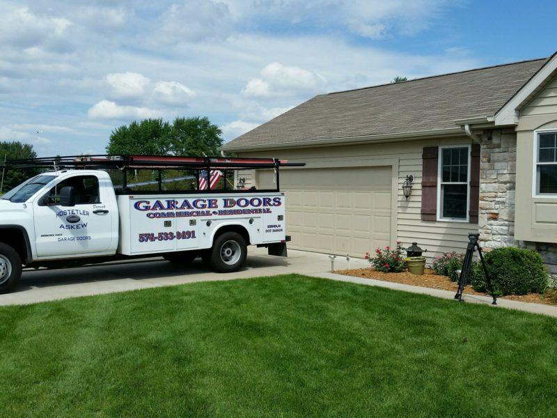 indiana garage door repair services